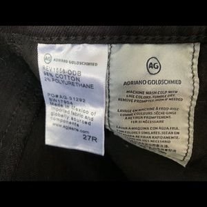 Ag Adriano Goldschmied Jeans - High-rise Stevie Ankle AG jeans
